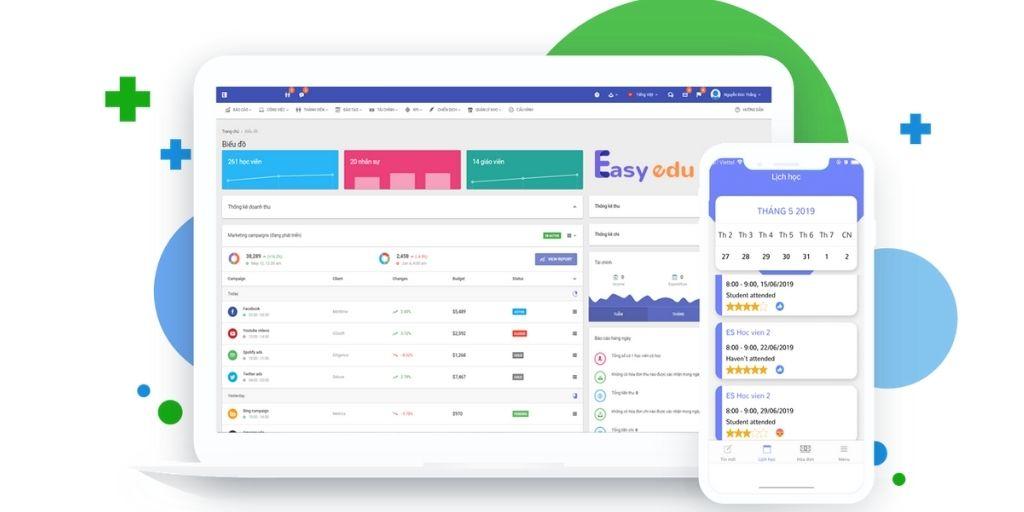 ứng dụng quản lý ngoại ngữ Easy Edu