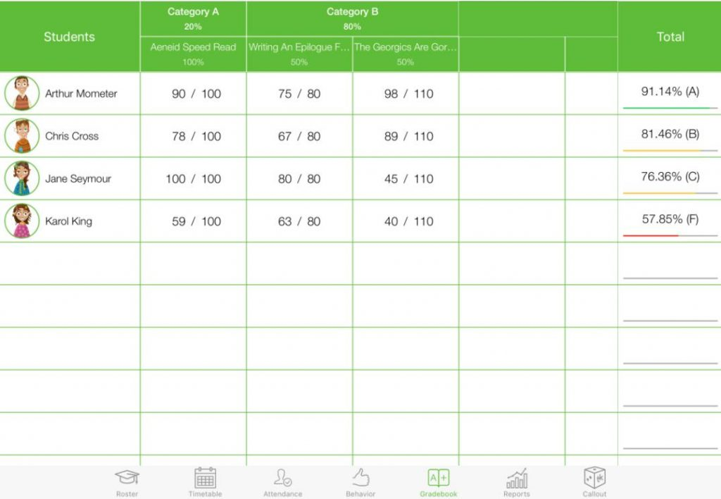 phần mềm quản lý trường học TeacherKit