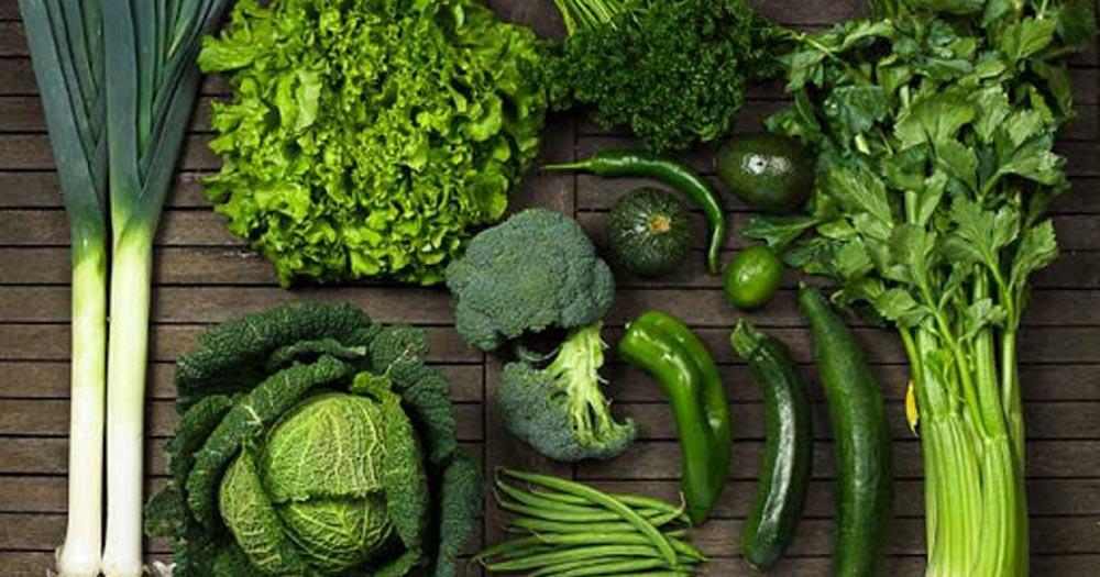 Lợi ích khi bổ sung đầy đủ rau xanh đậm