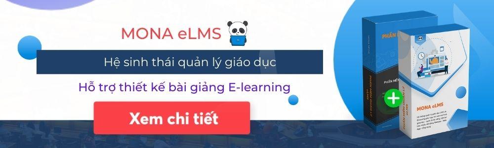 Phần mềm Mona eLMS