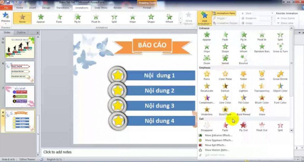PowerPoint: phần mềm làm slide thuyết trình