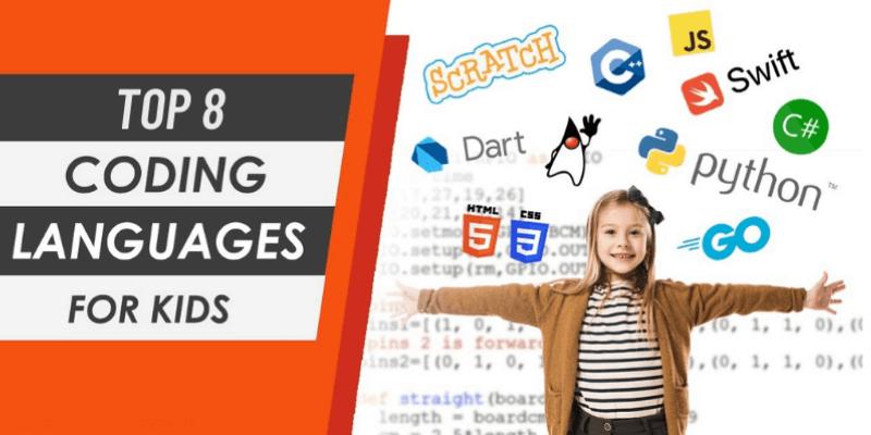 top 8 ngôn ngữ lập trình cho trẻ em